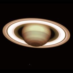 La planète Saturne vue par le VLT et son optique adaptative